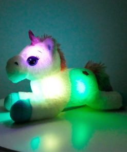 Unicorn Stuffed Animal Led