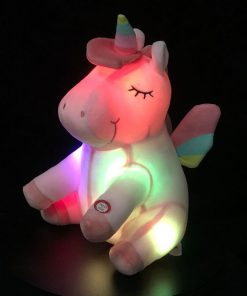 Unicorn Stuffed Animal Light Up