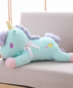Beautiful Blue Unicorn Stuffed Animal