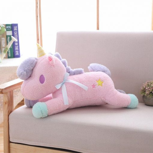 Beautiful Pink Unicorn Stuffed Animal