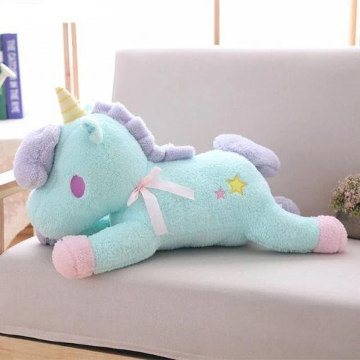 Big Blue unicorn stuffed animal for girls