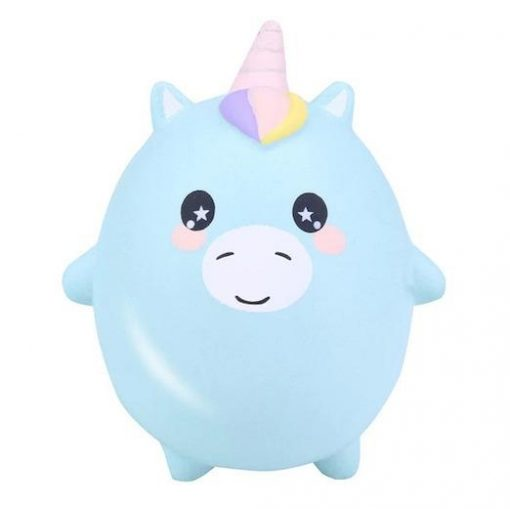 Mini squishy of unicorn kawaii anti stress