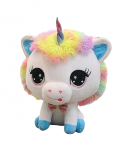 Big Blue Head Unicorn Stuffed Animal