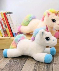 Large Rainbow Unicorn Stuffed Animal