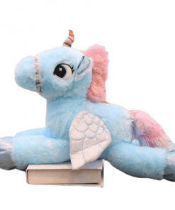 Blue Unicorn Stuffed Animal 120cm