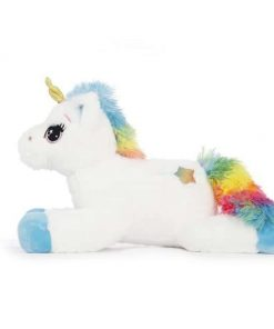 Blue Luminous Unicorn Stuffed Animal