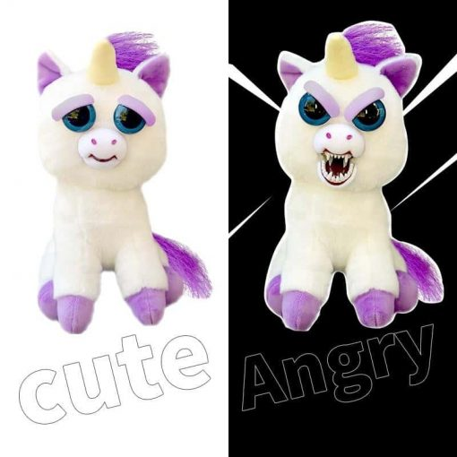 Demonic Unicorn Stuffed Animal