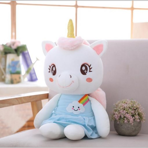 Unicorn kawaii stuffed animal girl