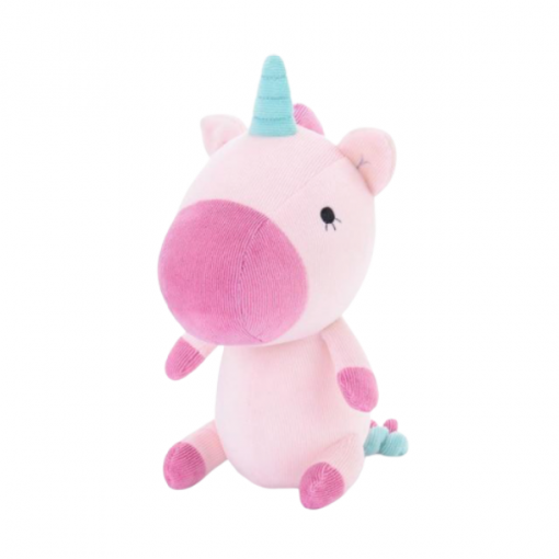 Unicorn Stuffed Animal Small Size Purple