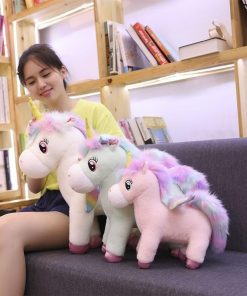 Soft Unicorn Stuffed Animal