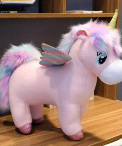 Unicorn Stuffed Animal With Wings