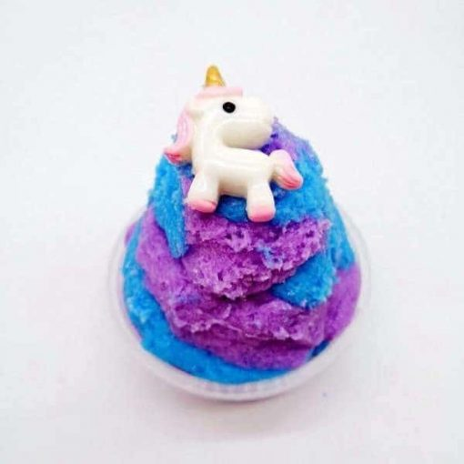Unicorn slime with a unicorn