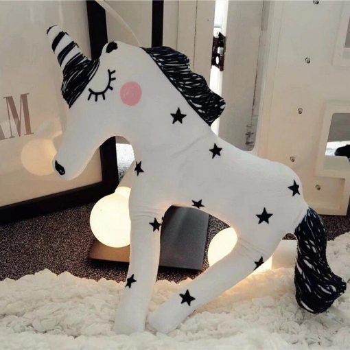 White Unicorn Stuffed Animal