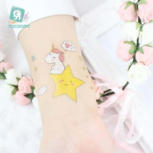 Unicorn Tattoo Child