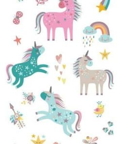 Unicorn Tattoo Sticker