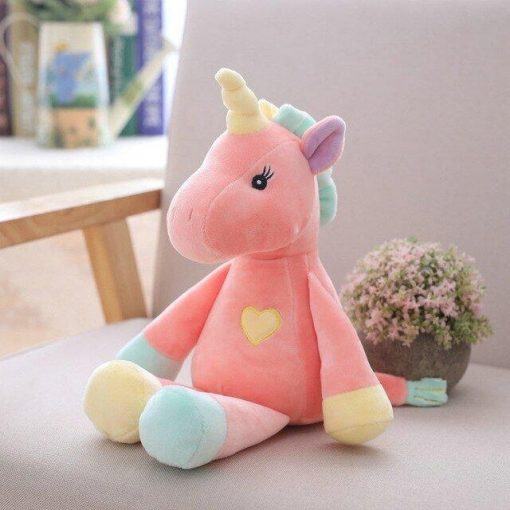 Pink Unicorn Stuffed Animal