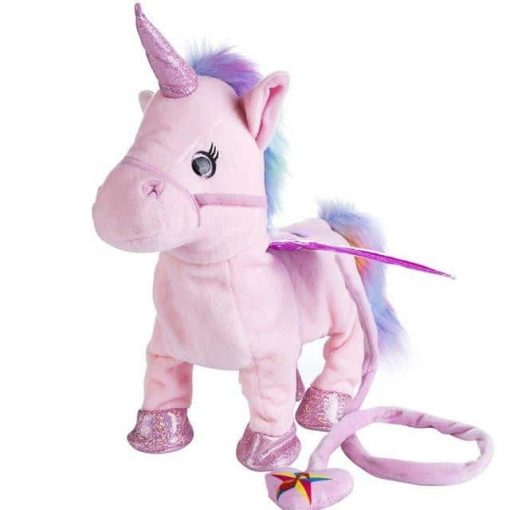 Electronic Pink Unicorn Toy